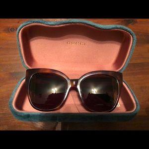 Authentic GUCCI GG0059s Sunglasses 55/19/140